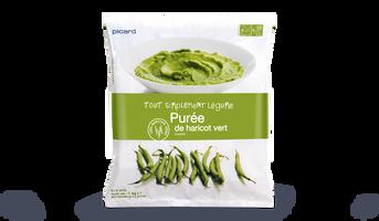 Pur e de haricots verts surgel s les l gumes picard - Cuisiner haricots verts surgeles ...