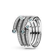 Shimmering Ocean Ring