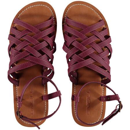 Braided Leather Flip Flop