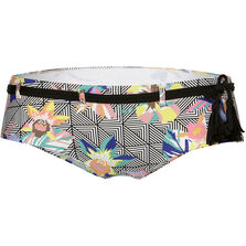 Print Shorty Bikini Bottom
