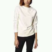 Mixed Media Crew Sweatshirt