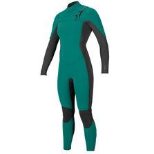 Hyperfreak 4/3mm chest zip full wetsuit womens