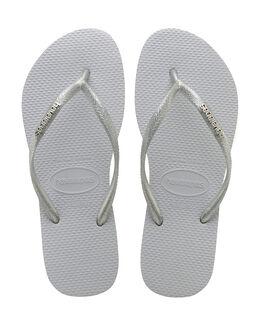 Havaianas Slim Logo Metallic Flip Flop