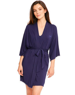Calvin Klein Seductive Comfort With Lace Robe