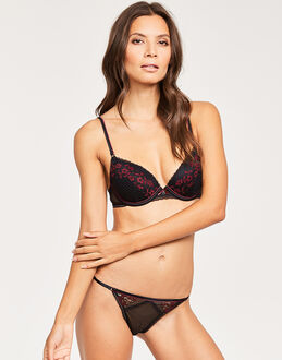 Heidi Klum Intimates Heather Possess Contour Plunge Bra
