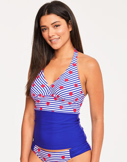 figleaves Tailor Underwired Halter Tankini Top