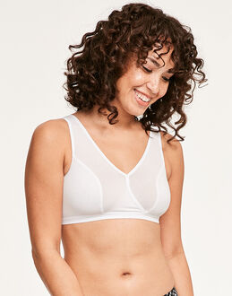 figleaves Comfort Caress Cotton-Modal Sleep Bra
