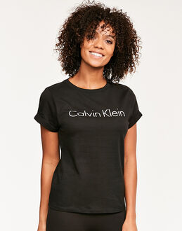 Calvin Klein Cotton Coordinating Top S/S Crew Neck