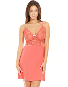 figleaves Pandora D-G Stretch Lace Chemise