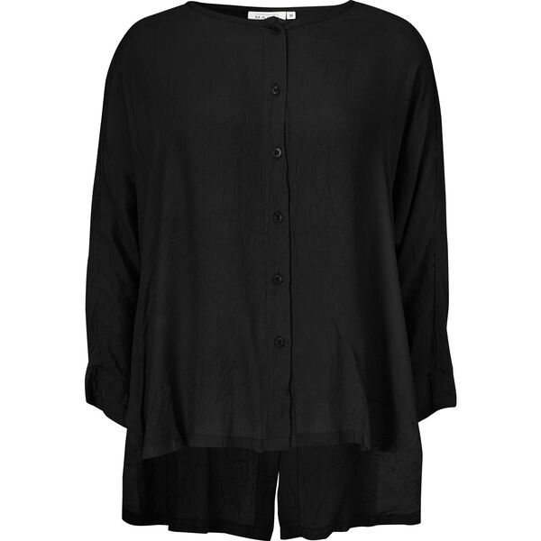 INES BLOUSE, BLACK, hi-res