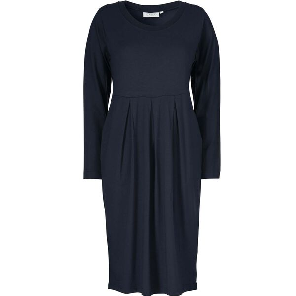 NONA DRESS, NAVY, hi-res
