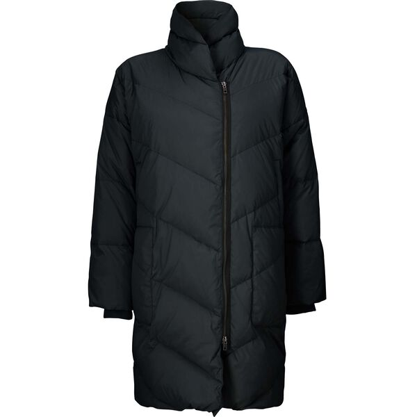 TRONJA COAT , BLACK, hi-res