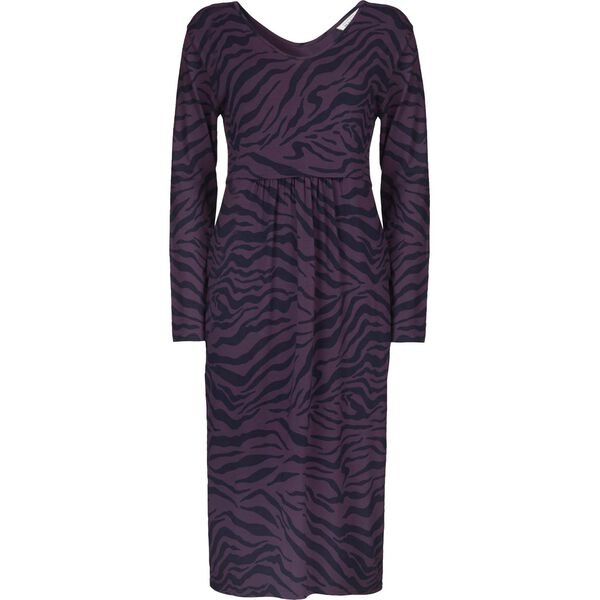 NORA DRESS, PLUM, hi-res