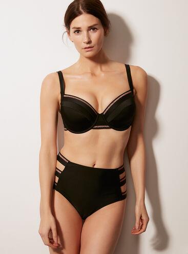 Paphos high-waisted bikini briefs