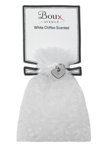 White Chiffon scented drawer sachet