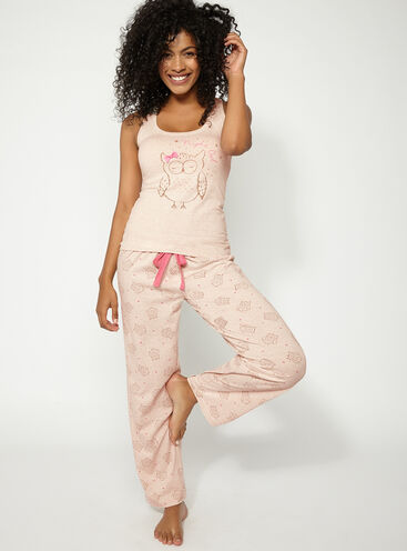 Night owl pyjama set