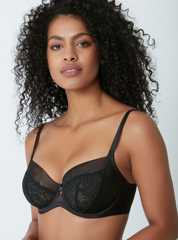 Gabriella non-padded full support bra