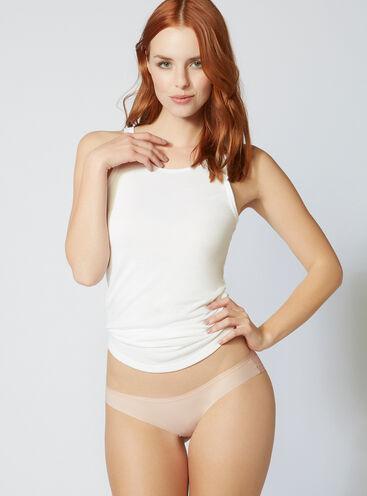 Lace back briefs