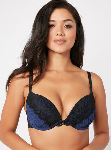 Leah pleated full support bra