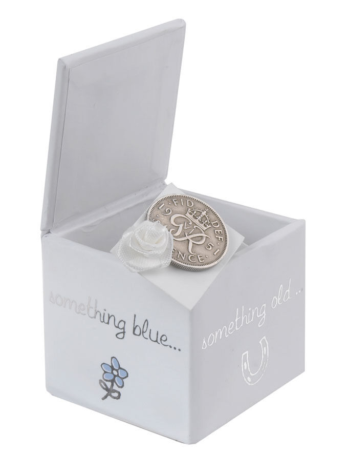 Wedding Day Good Luck Sixpence White Mix Boux Avenue