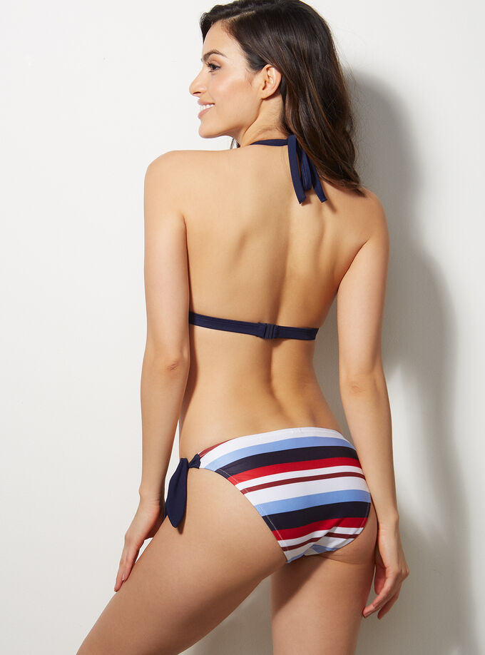 c6d7920a9d7 Gili triangle bikini top. Model wears size 32C