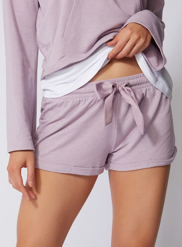 Leisurewear running-style shorts