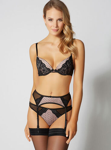 Nadine suspender belt