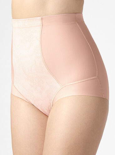 Boux lace high waisted control briefs