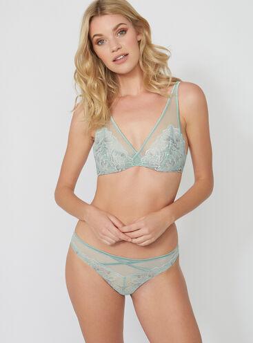 Natasha lace thong